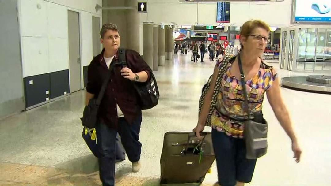 Renae Lawrence Touches Down In Australia