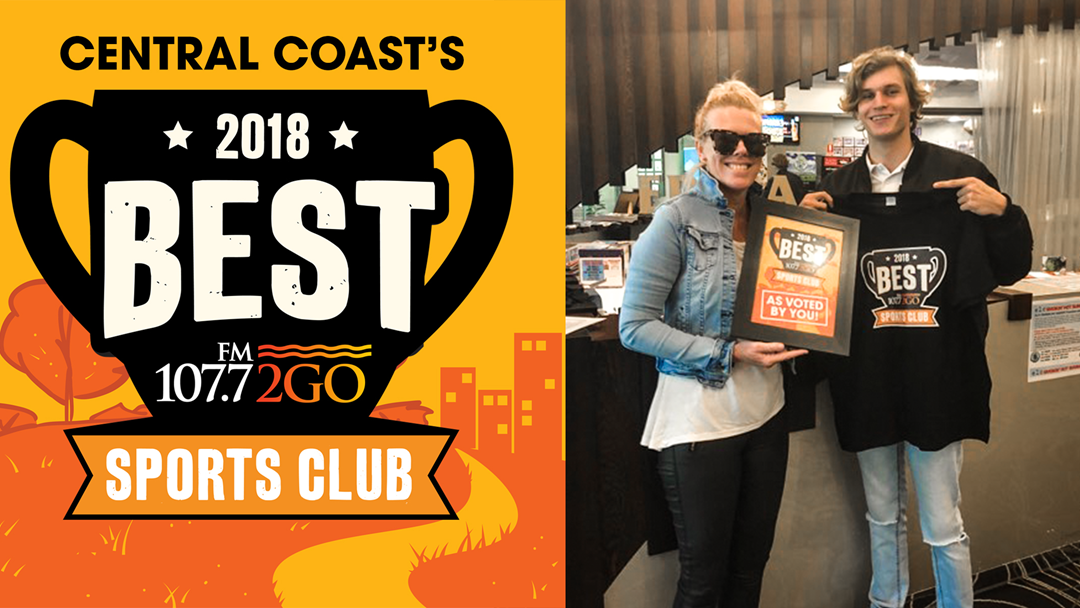 The Votes Are In... The Central Coast's Best Sports Club Is In Erina!
