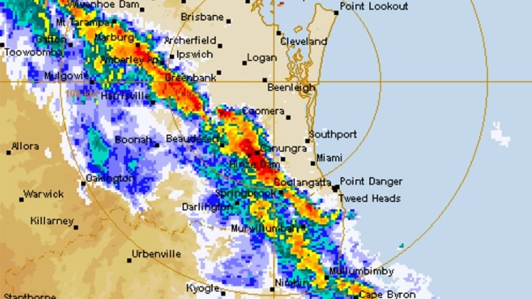 STORM: Gusty Winds Knock Power Out Across GC