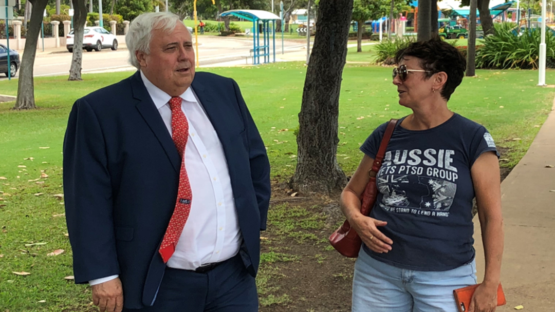 Locals Spark Speculation On The Eve Of 'Huge' Clive Palmer Announcement