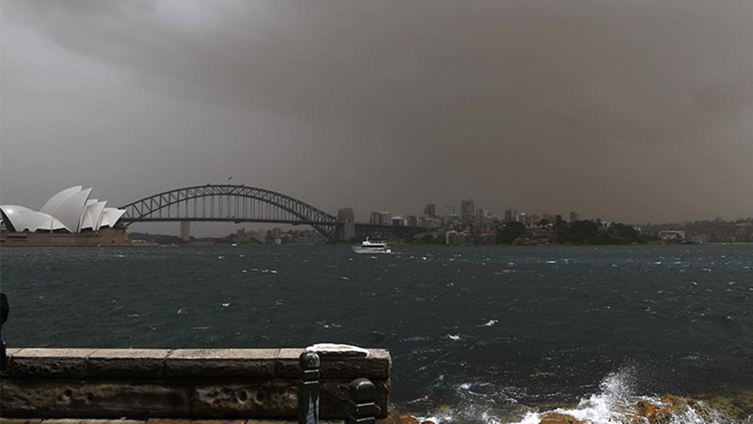 Air Quality Warning After Dust Storm Hits Sydney