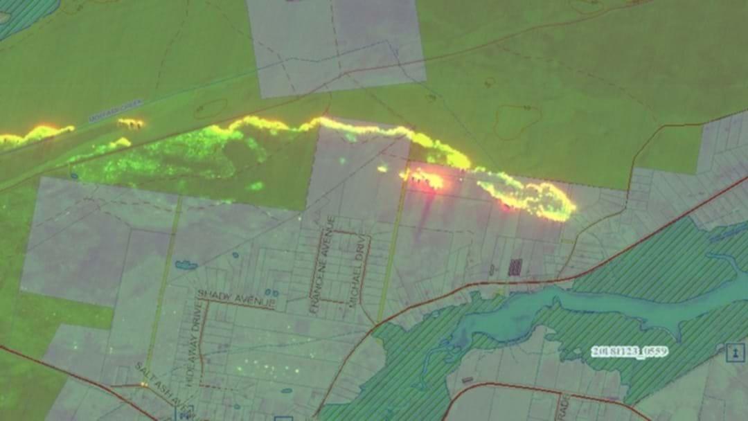 Port Stephens Bushfire Upgraded To An Emergency Warning