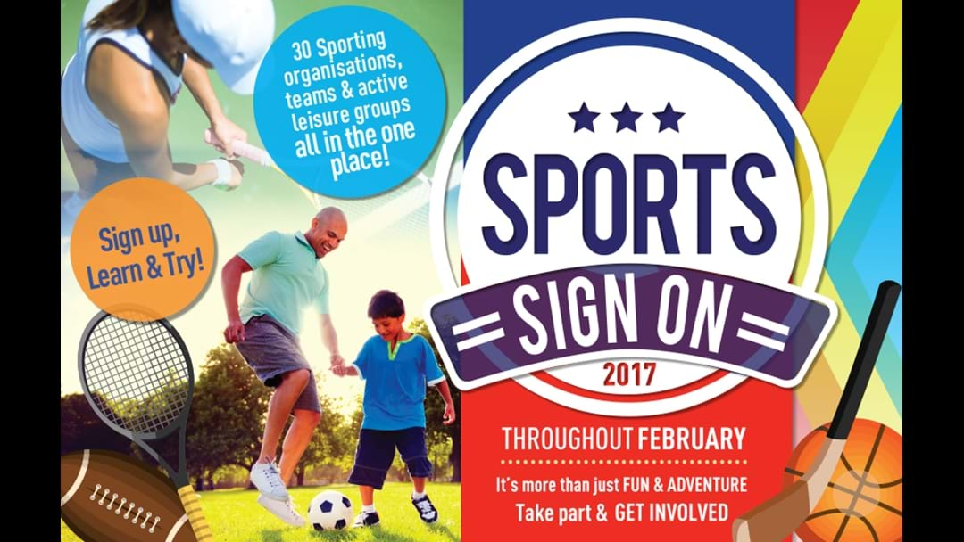 Sports Sign on 2017