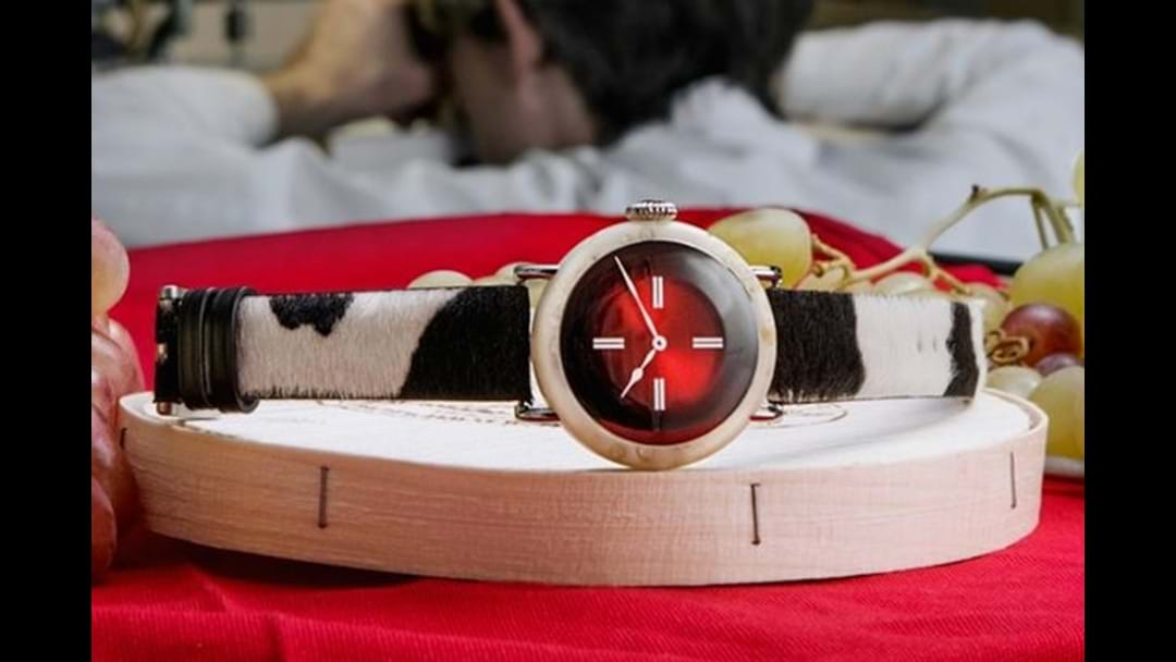 Someone's made a watch out of cheese and it's selling for nearly $1.3 million