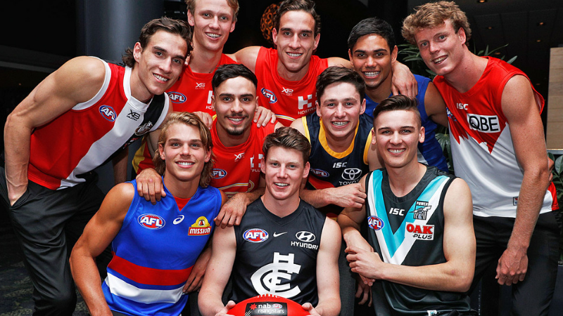 Article heading image for Meet Your Team's 2018 NAB AFL Draftees!