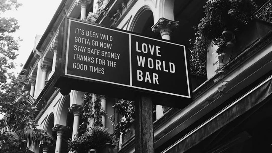 Put Out Your Teapots: The World Bar Is Closing Down Today