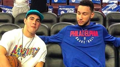 Darce Quizzes Ben Simmons On Whether He's Really Mates With Christian Petracca