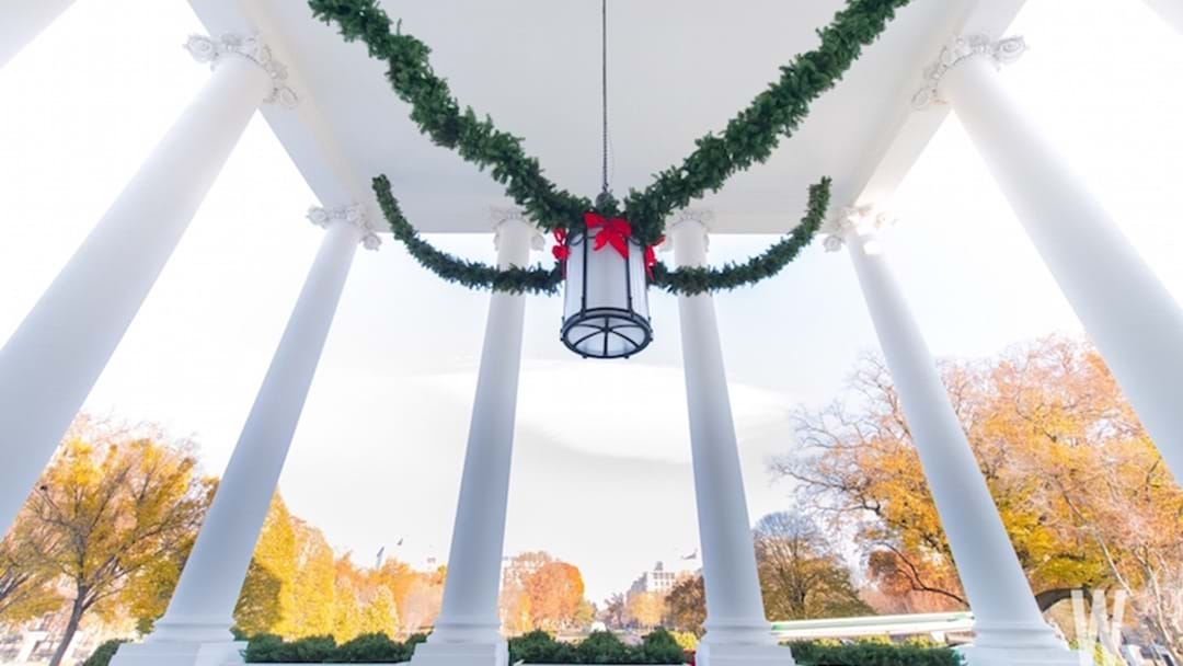 How Is The White House Decorated For Christmas?