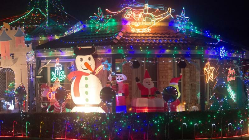 Where To Find The Very Best Xmas Light Displays Here In #Perth