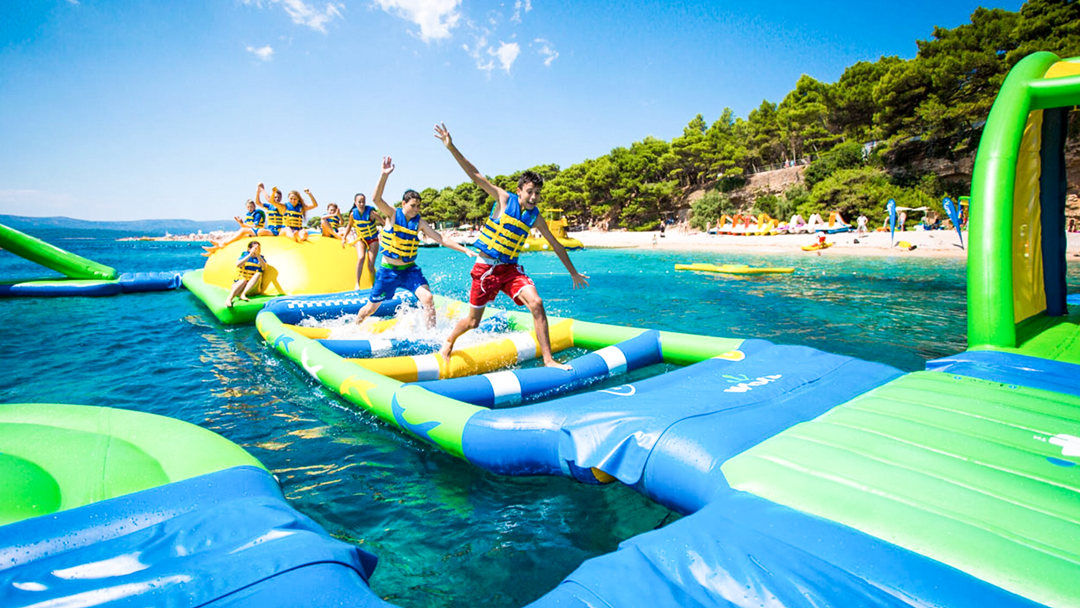 Aqua Splash Is Back On The Gosford Waterfront Just In Time For Summer!