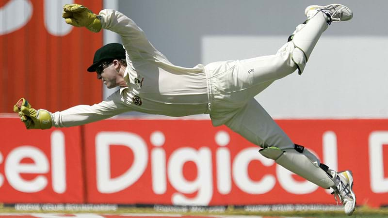 Article heading image for Brad Haddin's Story About Breaking His Finger On Test Debut