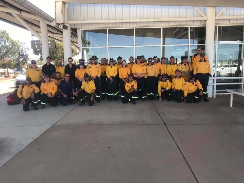 Article heading image for Wagga firefighters lend a hand in Queensland