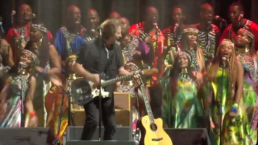 Eddie Vedder's Must-See Performance Of Better Man With A Gospel Choir