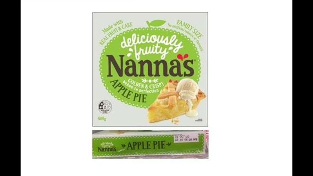 *******Nanna's Apple Pie Recall