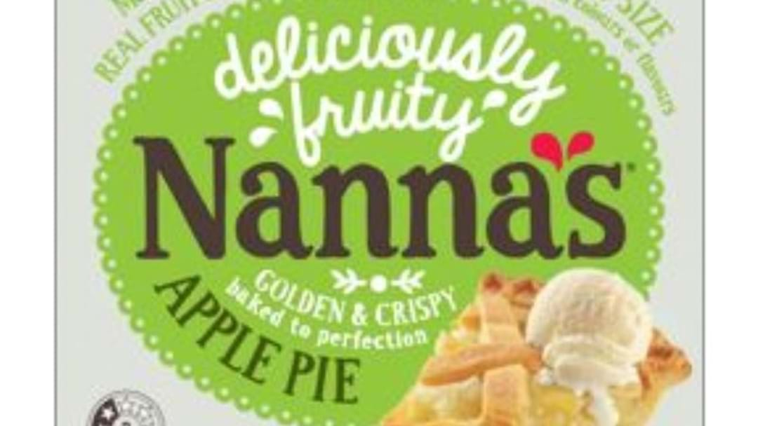 RECALL: Glass Fragments Found Inside Nanna's Family Apple Pies