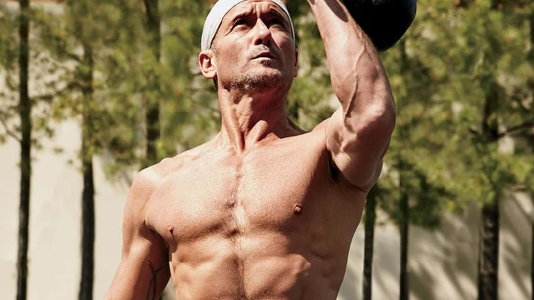 Tim McGraw Pumped to Open Fitness Centre