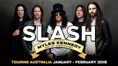Win VIP Tickets To Hang At Slash's Soundcheck Gig