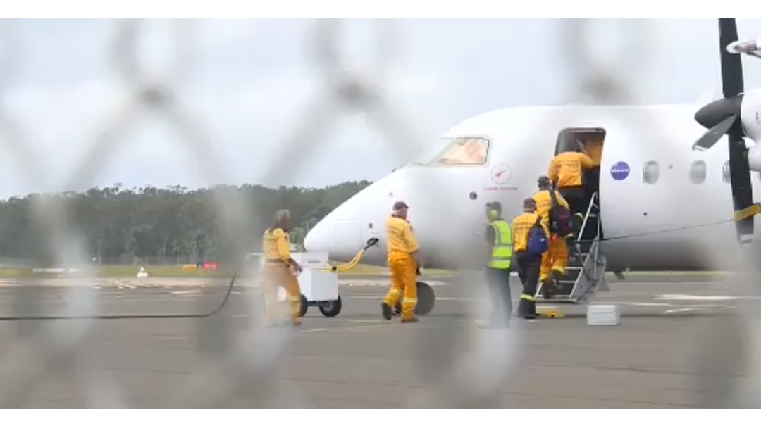 Interstate Fire Fighters Return Home After Helping in Mackay Region