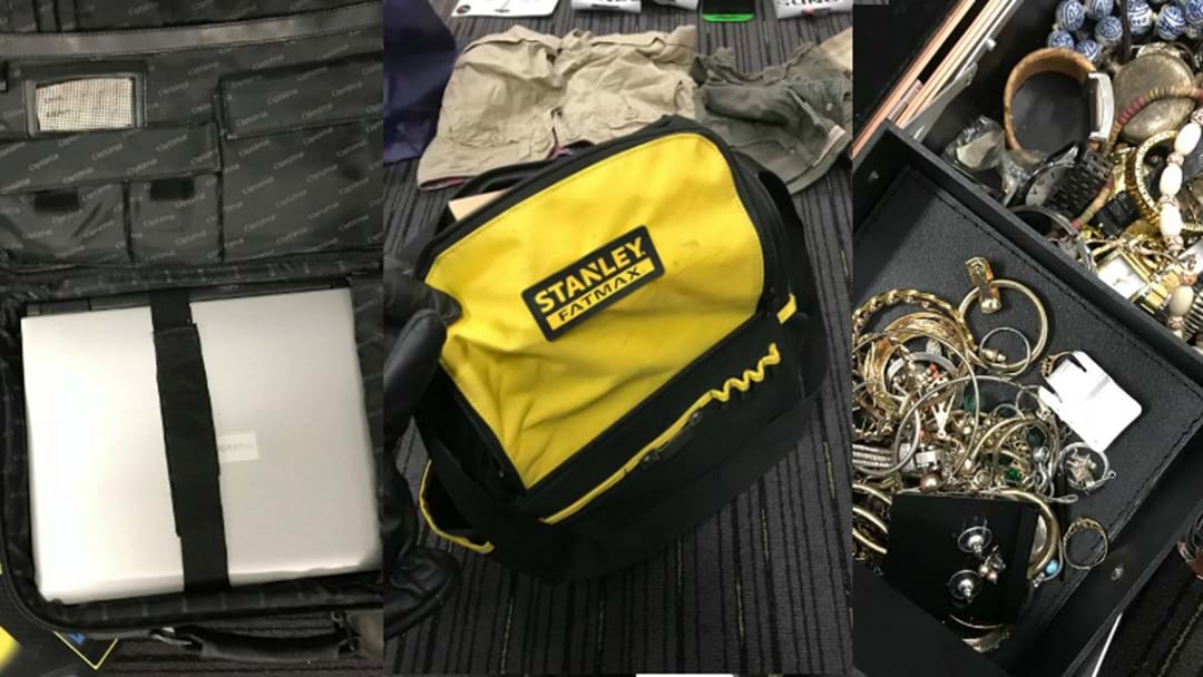 Huge Amount Of Stolen Gear Recovered In Cessnock