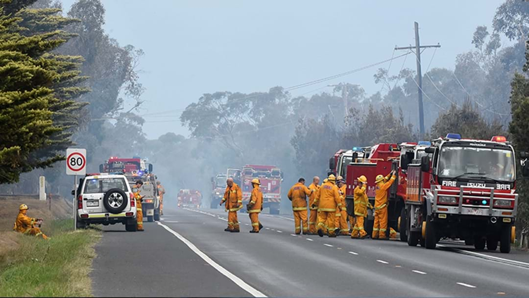 Grassfire At Little River, West Of Werribee, Not Yet Under Control