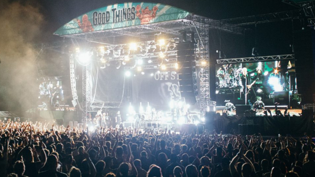 A Security Guard Has Passed Away Following Suspected Heart Attack At Good Things Festival