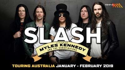 Win VIP Tickets To Hang At Slash's Soundcheck Gig
