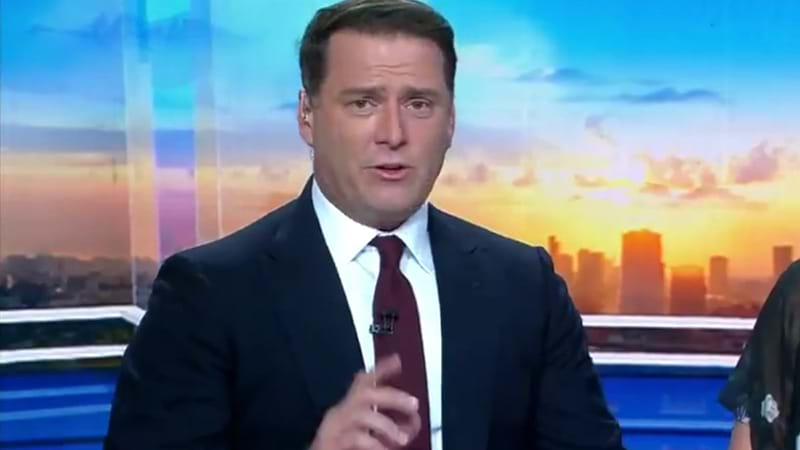 Richard Wilkins delivers farewell to former colleague Karl Stefanovic