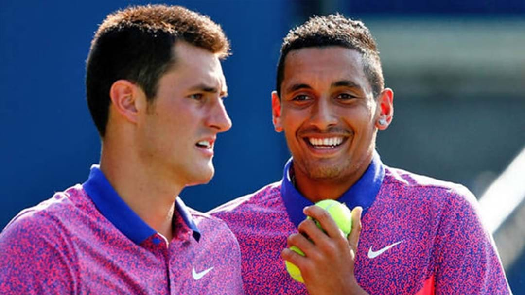 Tomic & Kyrgios Set To Face Each Other For The First Time Ever At The Kooyong Classic