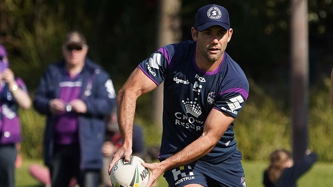 Cam Smith Returns To Training Despite No Official Announce Of His Re-Signing