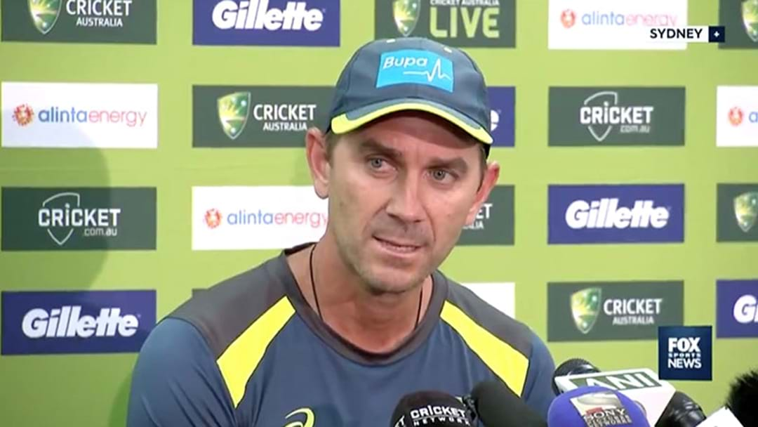 Justin Langer Snapped At A Journo About Glenn Maxwell In A Presser Today