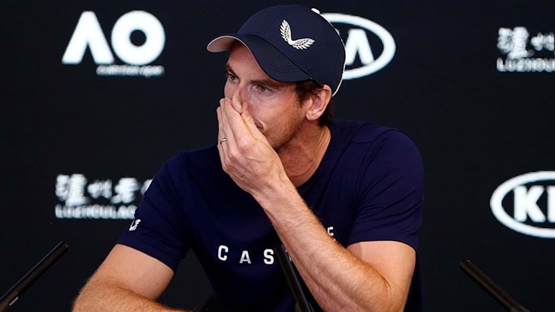 Andy Murray Announces He'll Retire This Year