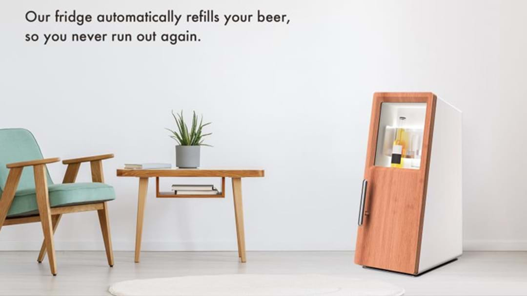 This Smart Fridge That Will Automatically Order You Beer When You're Running Low