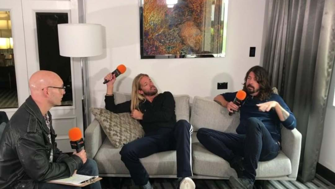 Ugly Phil Interviews Foo Fighters