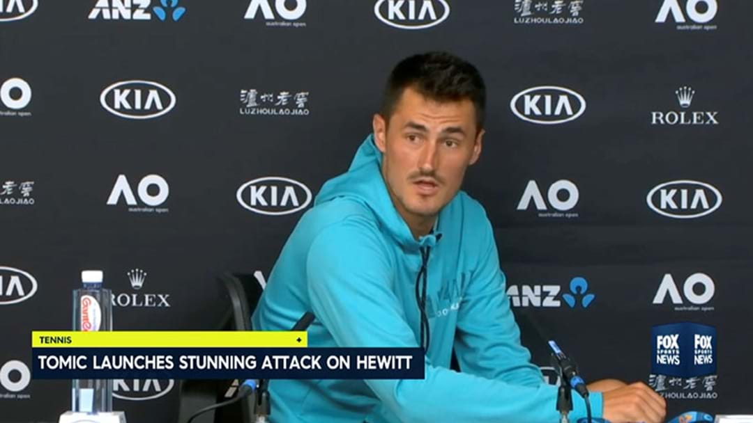 """No One Likes Him"": Bernard Tomic Absolutely Rinsed Lleyton Hewitt After His Australian Open Exit"