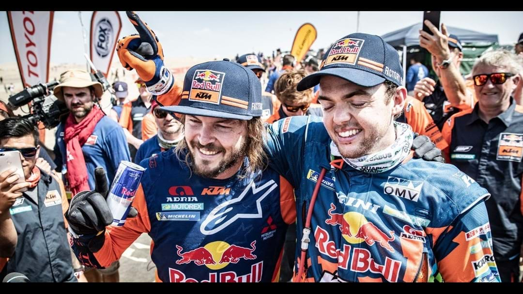 Toby Price Shrugs Off Wrist Injury To Win Dakar Rally