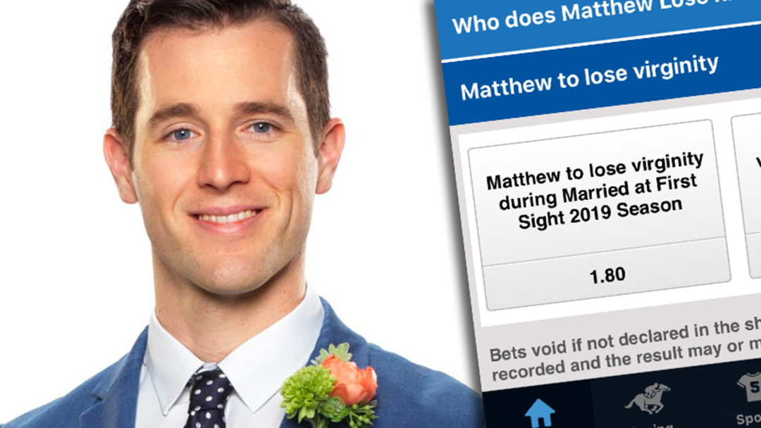 A Market Has Opened On Whether MAFS' Matthew Will Lose His Virginity