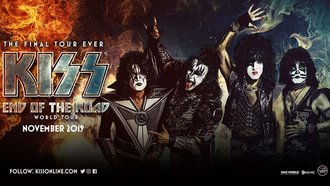 WANNA SEE KISS IN THE BEST SEATS IN THE HOUSE.. FRONT OF STAGE?!