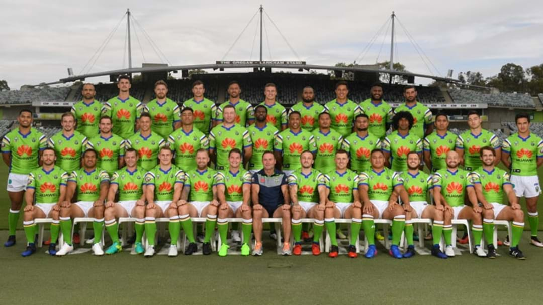 Have You Seen The Raiders Team Photo For This Season?