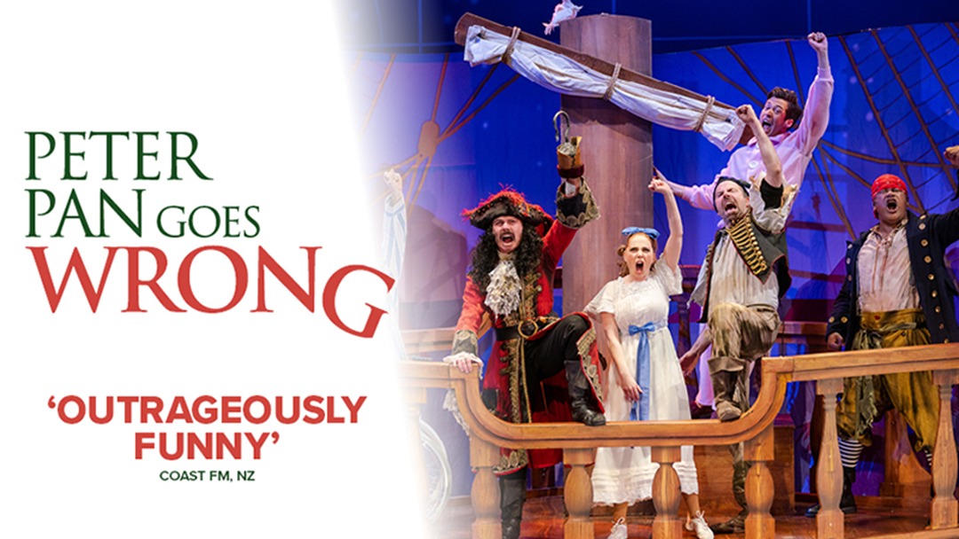 Win a double pass to Peter Pan Goes Wrong