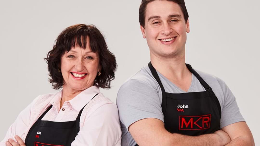 MKR's Lisa And John Speak Ahead Of Their Big Cook Tonight