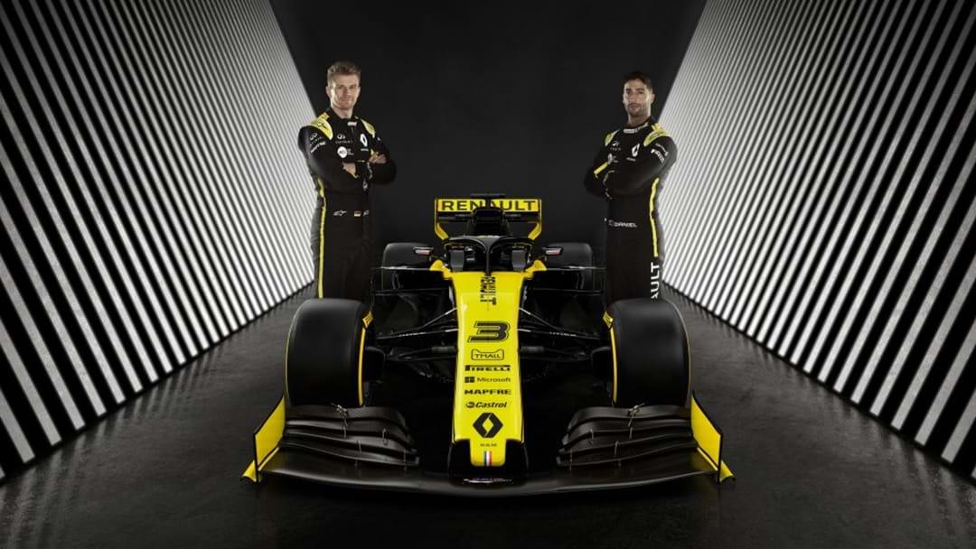 No Bull: Daniel Ricciardo Rolls Out New Car
