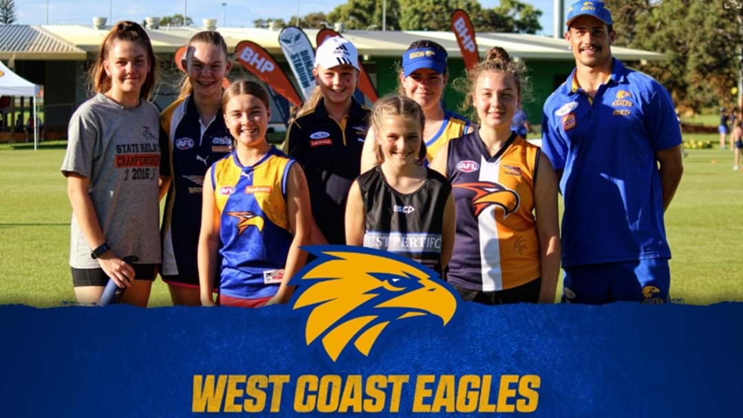 Think You're Good Enough To Be A West Coast Eagle?