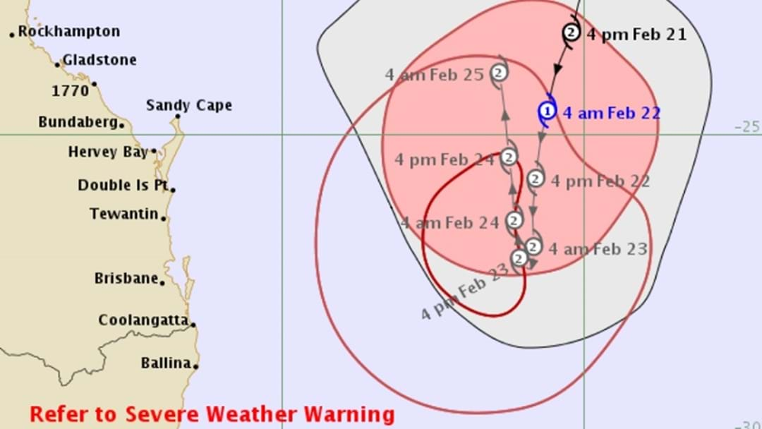 Cyclone Watch Cancelled With Oma Now Expected To Stay Offshore