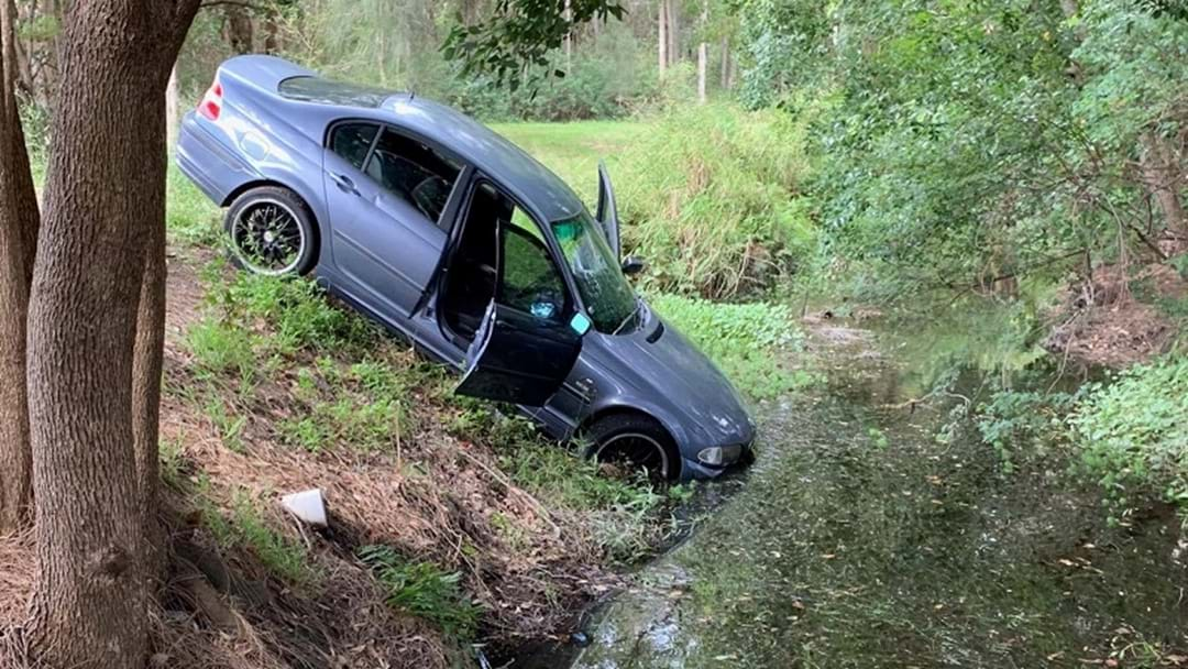Driver Disqualified Til 2057 Veers Into Creek After Long Jetty Police Chase