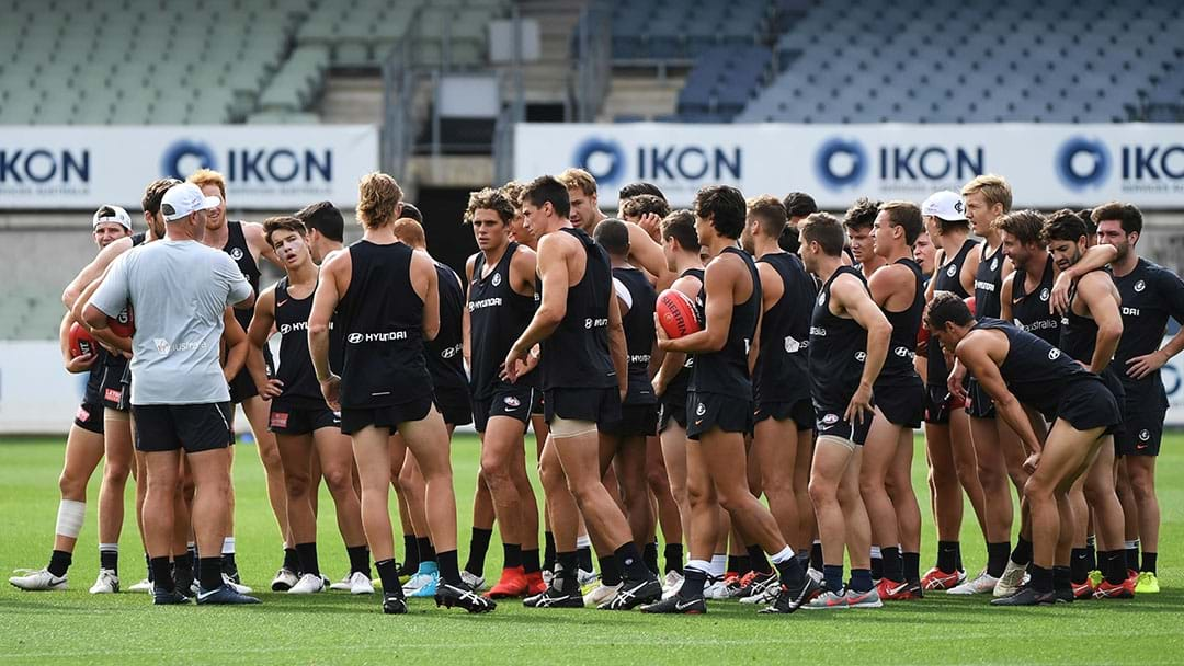 LISTEN | Tom Browne Says Carlton's AFL Side Will Not Play Home And Away Matches At Ikon Park