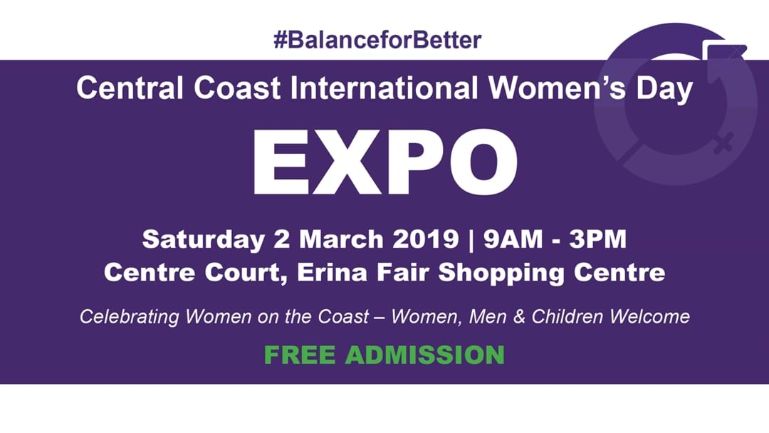 Central Coast International Womens Day Expo!