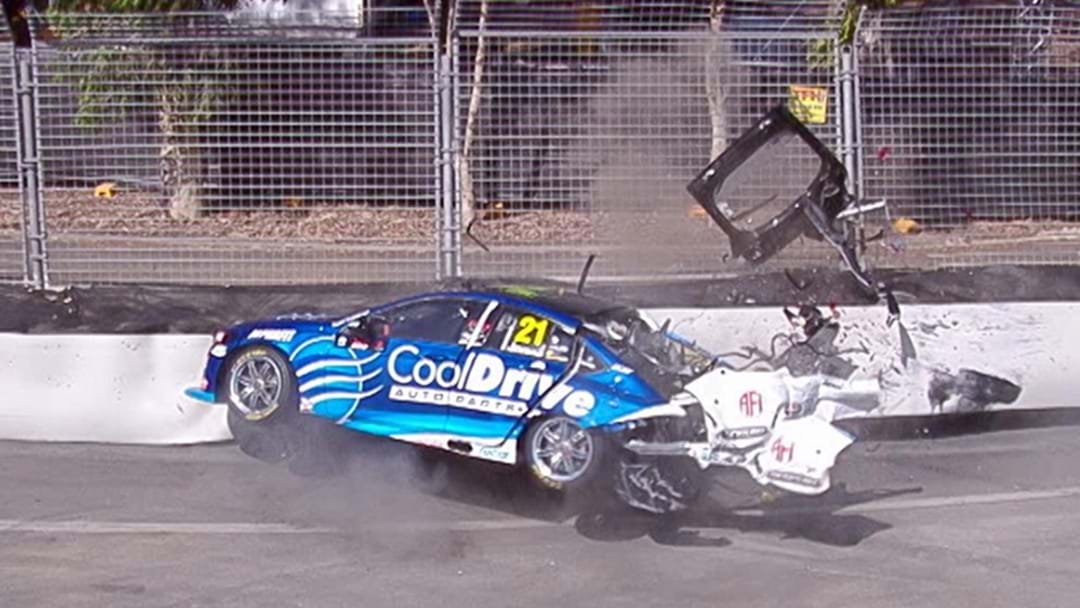 """That's Violent"": Horror Crash Ends Practice Early At Superloop Adelaide 500"