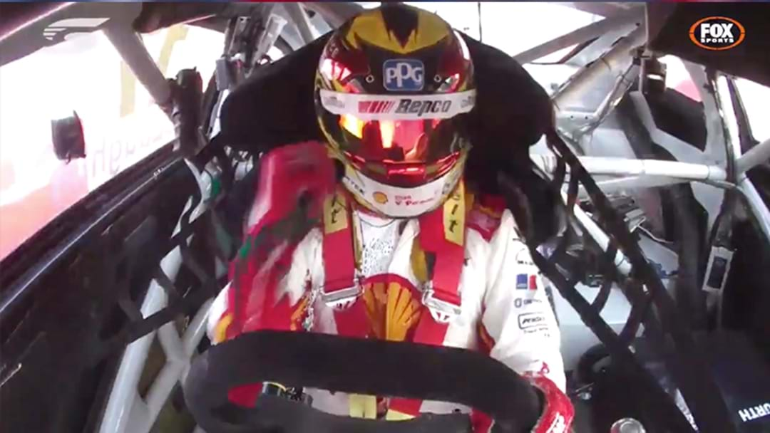"Scott McLaughlin Belted Out A Rendition Of ""Horses"" During The Final Lap Of Yesterday's Superloop Adelaide 500"
