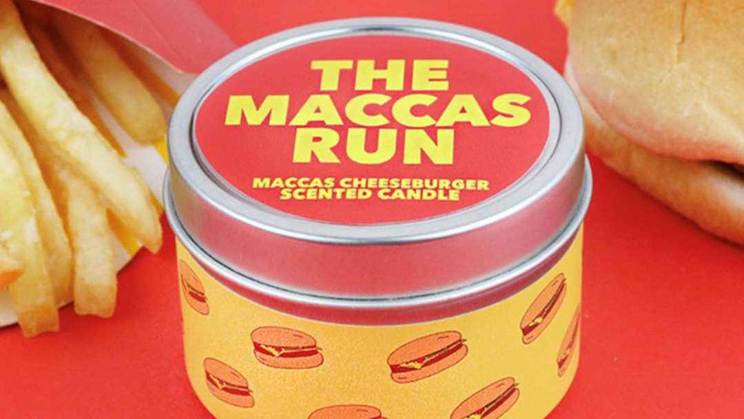 You Can Buy A Macca's Scented Candle Now, In Case You're Keen For Your Whole House To Smell Like A Cheesy B