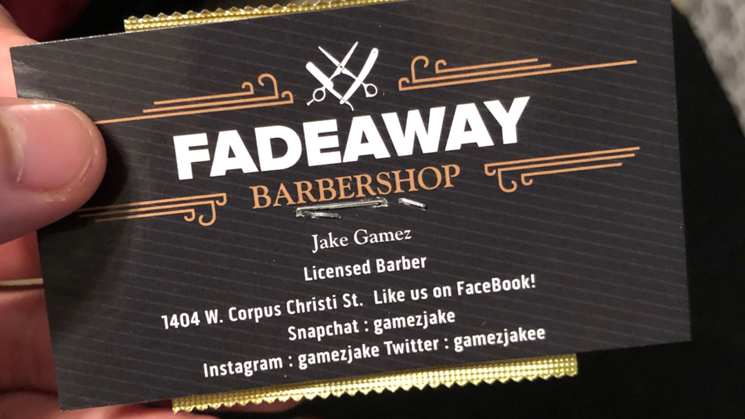 Hands Up Who Can See The Issue With This Barber's Condom-As-A-Business-Card Idea?